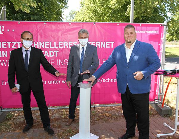 Telekom Glasfaser im TPO