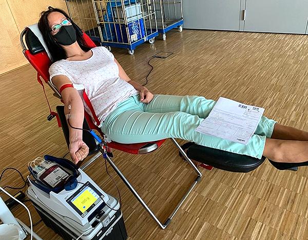 Blutspende Gemeindemitarbeiter