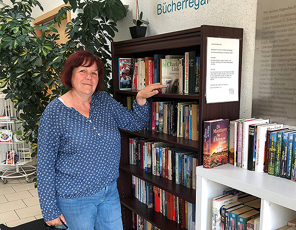 Offenes Bücherregal erfreut sich wachsender Beliebtheit