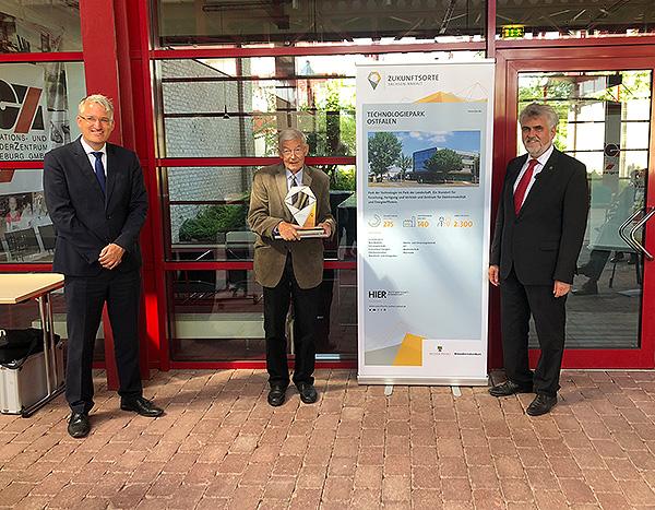 Barleber Technologiepark als »Zukunftsort« ausgezeichnet
