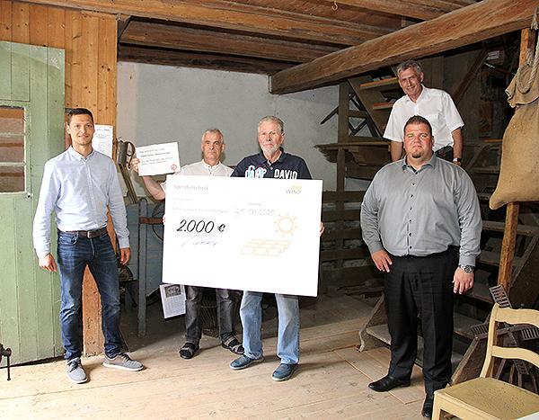 Spendenscheck_Mühlenhof