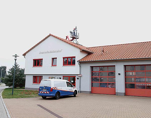 Neue Lautsprecheranlage FFW Meitzendorf
