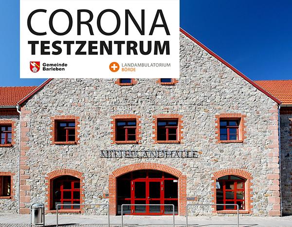 Testzentrum Barleben: Geänderte Öffnungszeiten