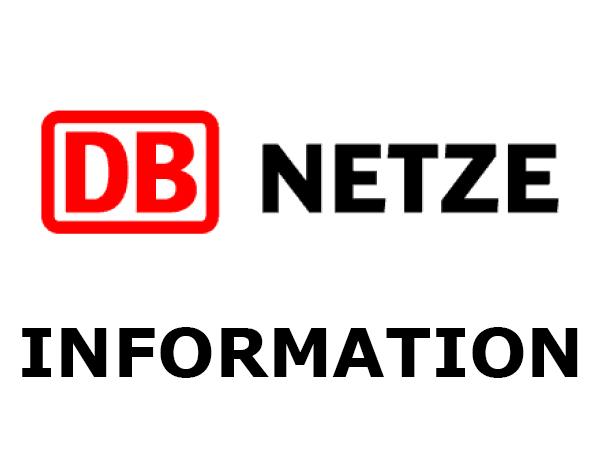Information der Deutsche Bahn AG
