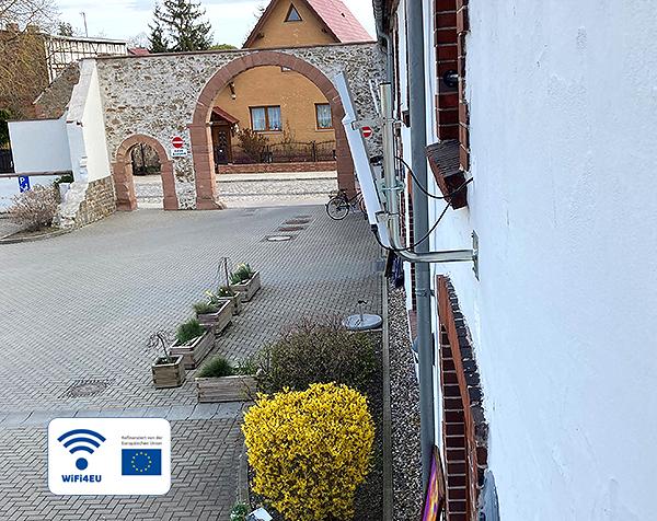 WiFi4EU Hotspot Meitzendorf Antenne