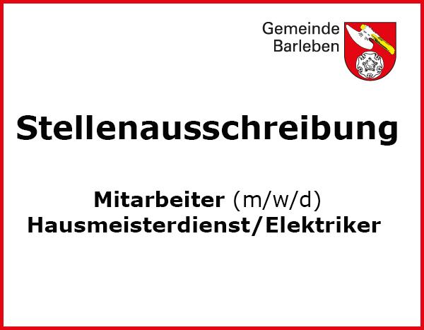 Stellenausschreibung_Hausmeister_Mittellandhalle