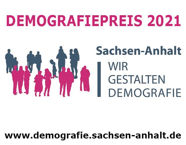Jetzt für den Demografiepreis Sachsen-Anhalt 2021 bewerben
