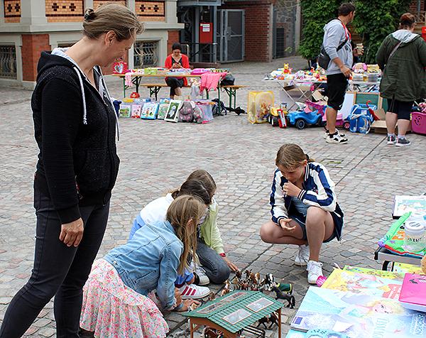 Kinderflohmärkte in der Gemeinde