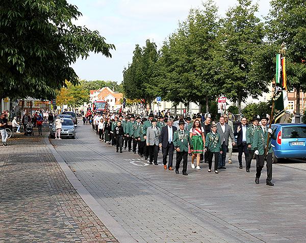 Schützenfest Festumzug