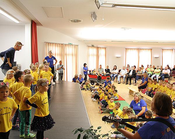 Einweihung Kita Meitzendorf Programm Kinder