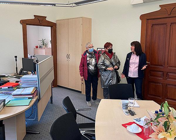 Tag der offenen Tür Bürobesichtigung