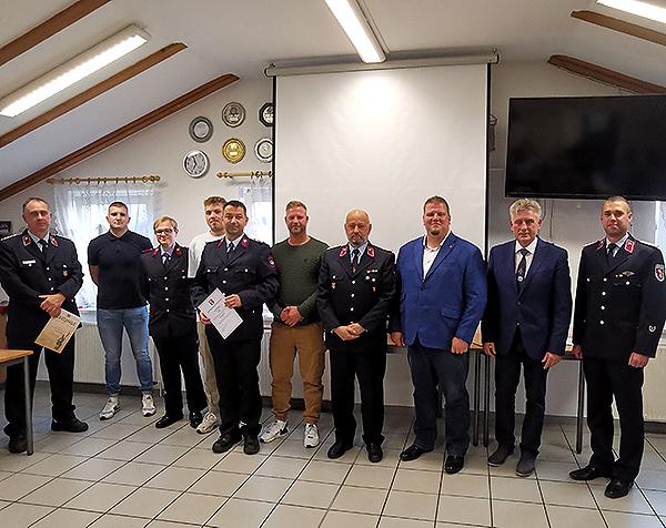 Ebendorfer Kameraden treffen sich zur Jahreshauptversammlung