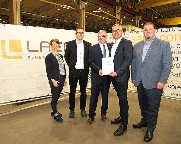 Maschinenbauer Laempe investiert in Erweiterung des Standortes