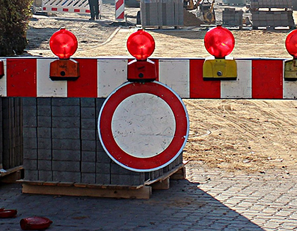 Halbseitige Sperrung des Verkehrs wegen Brückenarbeiten in Ebendorf